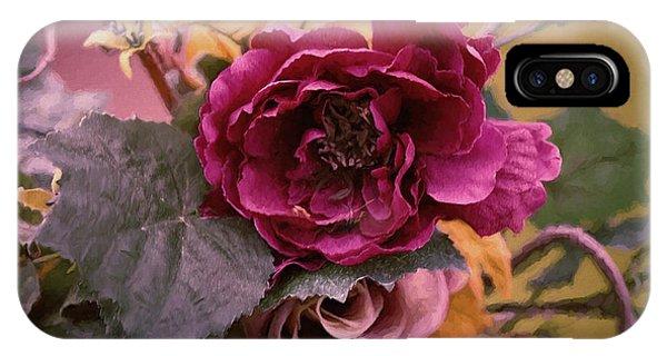 Roses In Oils IPhone Case