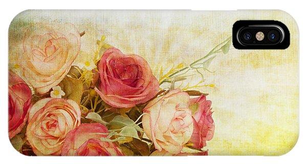 Roses Pattern Retro Design IPhone Case
