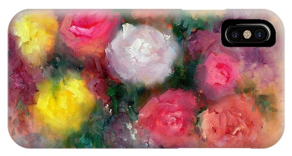 Roses Phone Case by Sally Seago