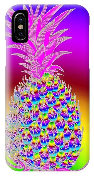 Rosh Hashanah Pineapple IPhone Case