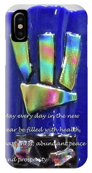 IPhone Case featuring the photograph Rosh Hashanah With Mezuzah by Linda Feinberg