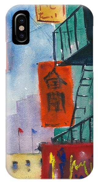 Ross Alley, Chinatown IPhone Case