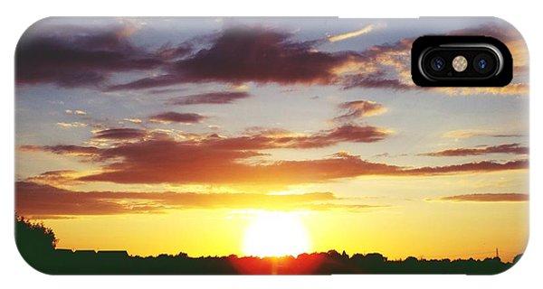 Rossington Sunset 2 IPhone Case