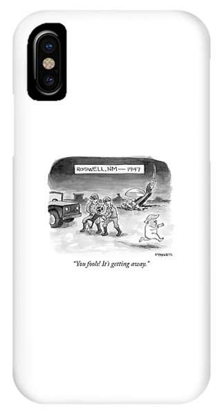 Roswell Nm 1947 IPhone Case