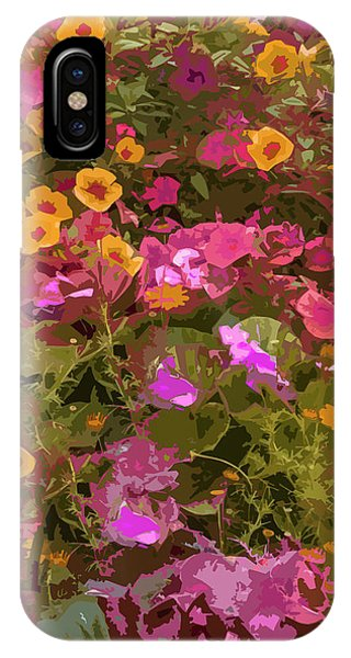Rosy Garden IPhone Case