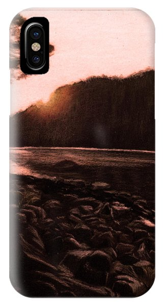Rosy Glow Of Morning IPhone Case
