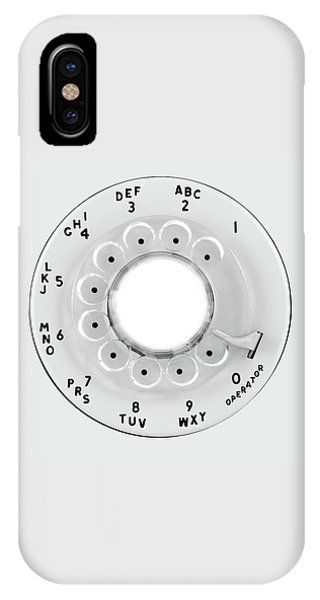 Rotary Telephone Dial IPhone Case