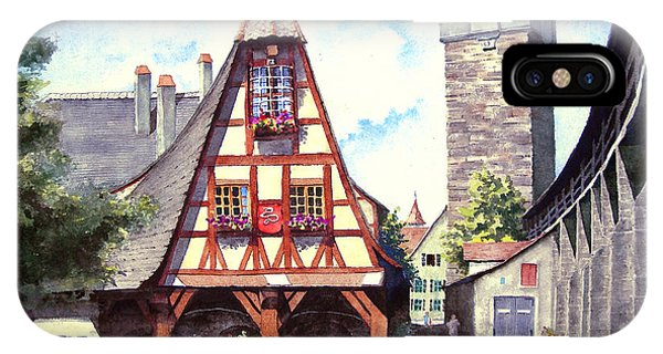 Rothenburg Memories IPhone Case