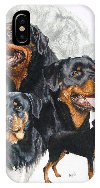 Rottweiler Medley IPhone Case