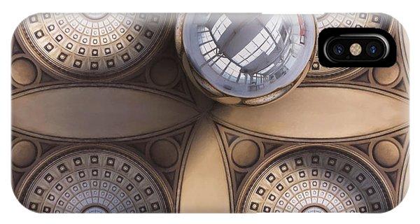 Indoors iPhone Case - Rotunda 4 Ways by Scott Norris
