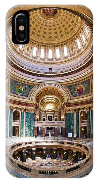 Rotunda - Capitol - Madison - Wisconsin IPhone Case