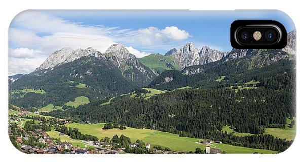 Rougemont Village In Switzerland IPhone Case