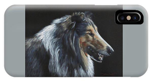 Rough Collie IPhone Case