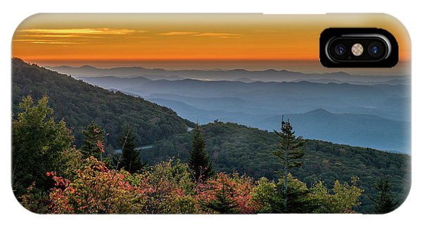 Rough Morning - Blue Ridge Parkway Sunrise IPhone Case