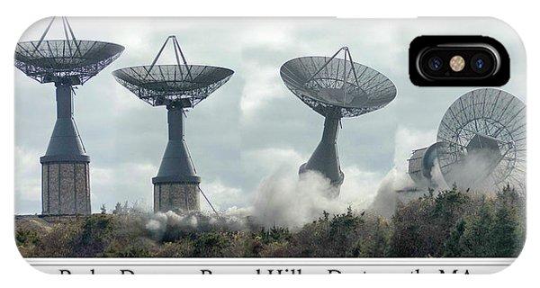 Round Hill Radar Demolition IPhone Case