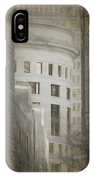 Round In A Square World IPhone Case