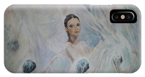 Roundelay. Ballet Dancers IPhone Case