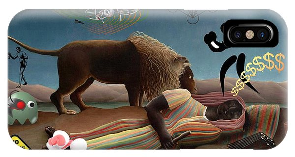 Rousseau's Nightmare IPhone Case