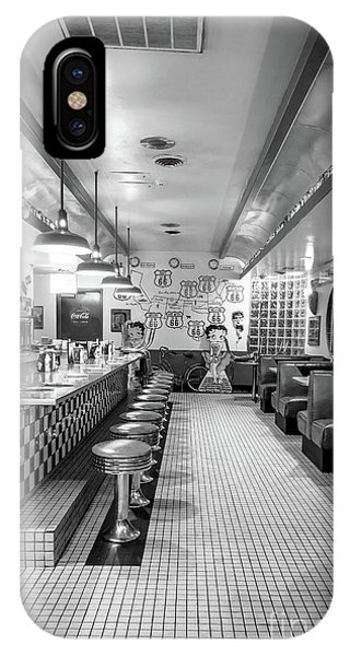 Route 66 Diner  IPhone Case
