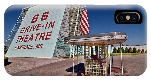 Route 66 Drive In IPhone Case