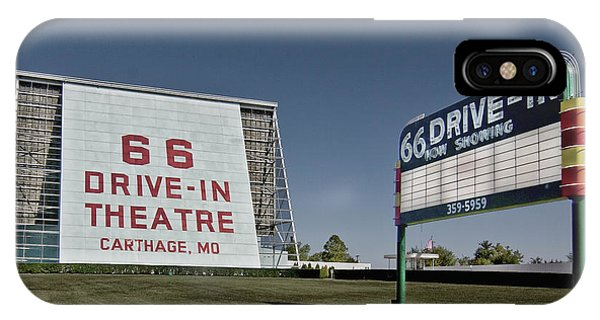 Route 66 Drive-in Theatre IPhone Case