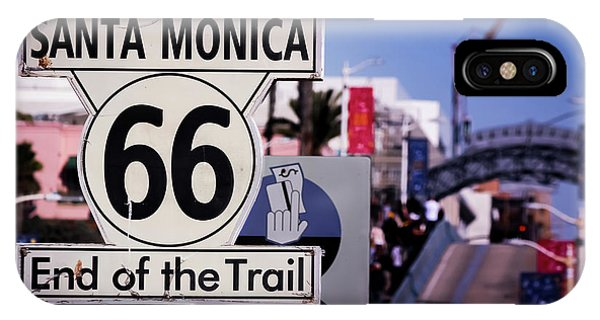 Route 66 End Of Trail IPhone Case