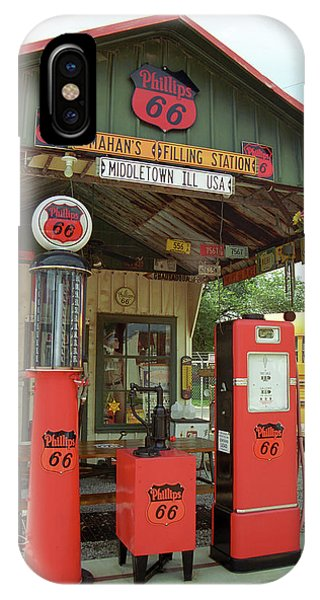 Route 66 - Shea's Gas Station IPhone Case