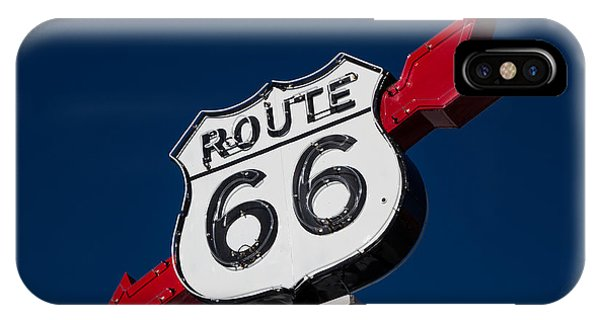 Route 66 Sign IPhone Case