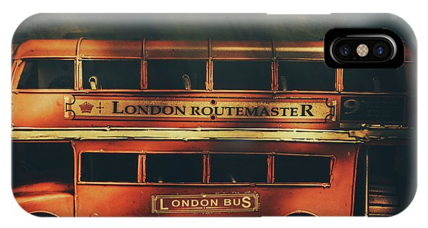 Commute iPhone Case - Routemaster Bus Station by Jorgo Photography - Wall Art Gallery
