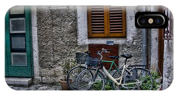 Rovinj Bicycles IPhone Case