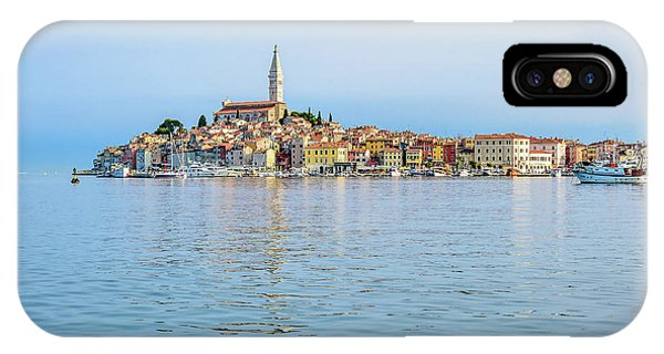 Rovinj In The Early Morning Fog, Istria, Croatia IPhone Case