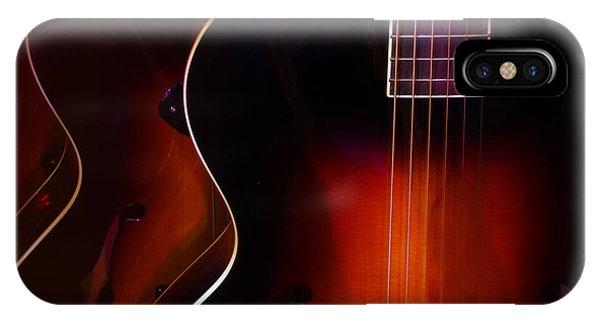 Row Of Guitars IPhone Case