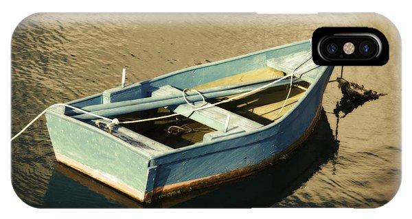 Rowboat At Twilight IPhone Case