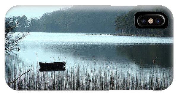 Rowboat On Muckross Lake IPhone Case