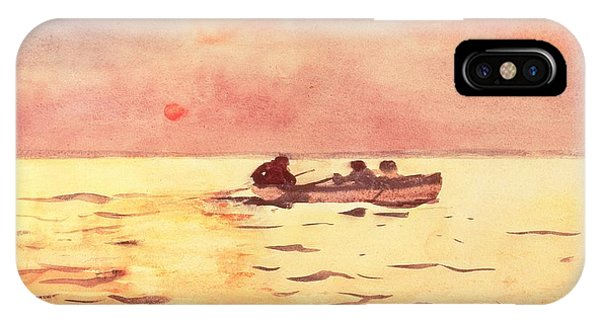 Rowing Home IPhone Case