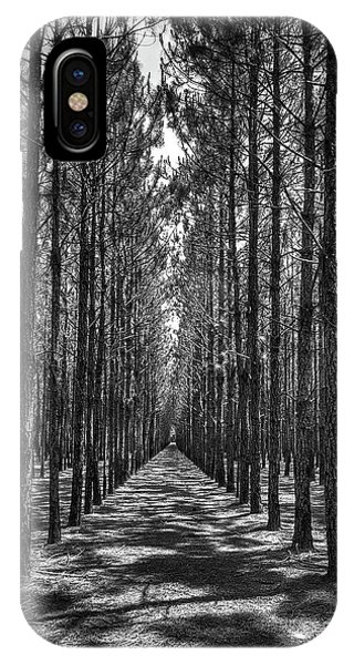 Rows Of Pines Vertical IPhone Case