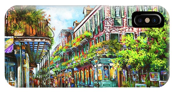 Royal At Pere Antoine Alley, New Orleans French Quarter IPhone Case