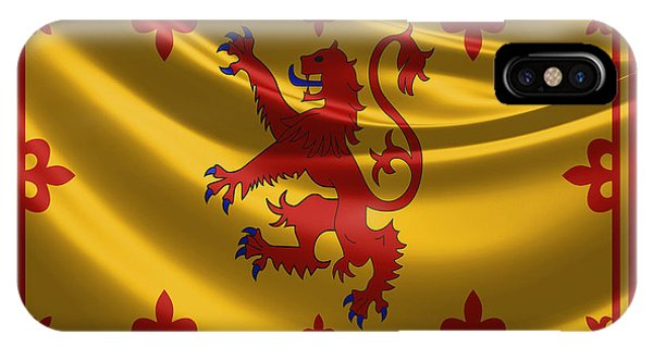 Royal Banner Of The Royal Arms Of Scotland IPhone Case