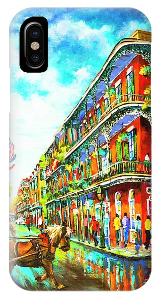 Royal Carriage - New Orleans French Quarter IPhone Case