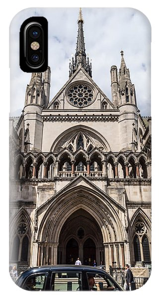Royal Courts Of Justice In London IPhone Case