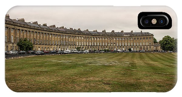 Somerset County iPhone Case - Royal Crescent In Bath by Patricia Hofmeester