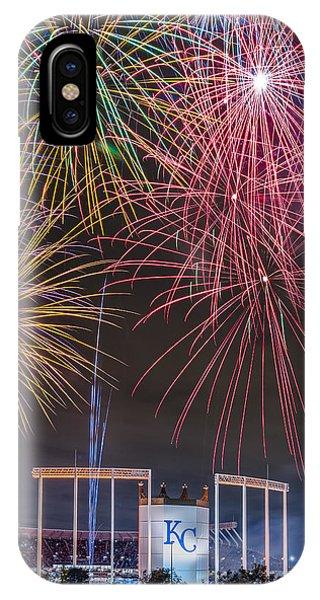 Royal Fireworks IPhone Case