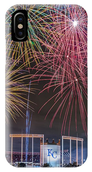 Royal Fireworks IPhone Case