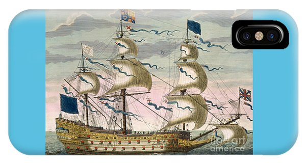 Royal Flagship Of The English Fleet IPhone Case