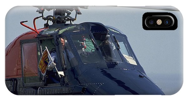 Royal Helicopter IPhone Case