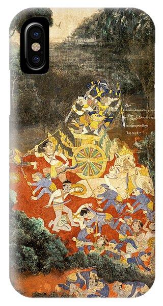 Royal Palace Ramayana 05 IPhone Case
