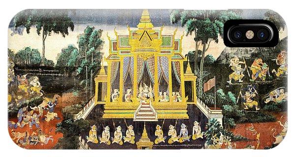 Royal Palace Ramayana 10 IPhone Case