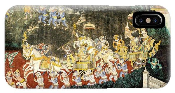 Royal Palace Ramayana 11 IPhone Case
