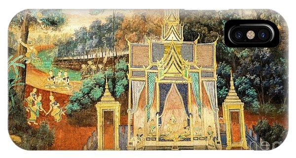 Royal Palace Ramayana 13 IPhone Case