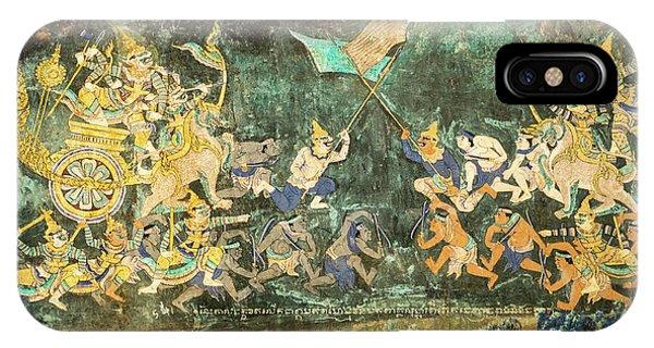 Royal Palace Ramayana 14 IPhone Case